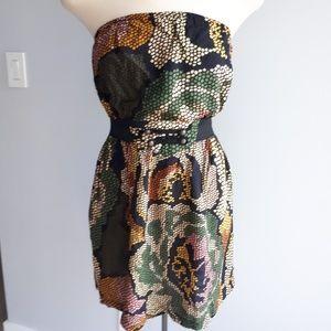 Billabong strapless dress size medium